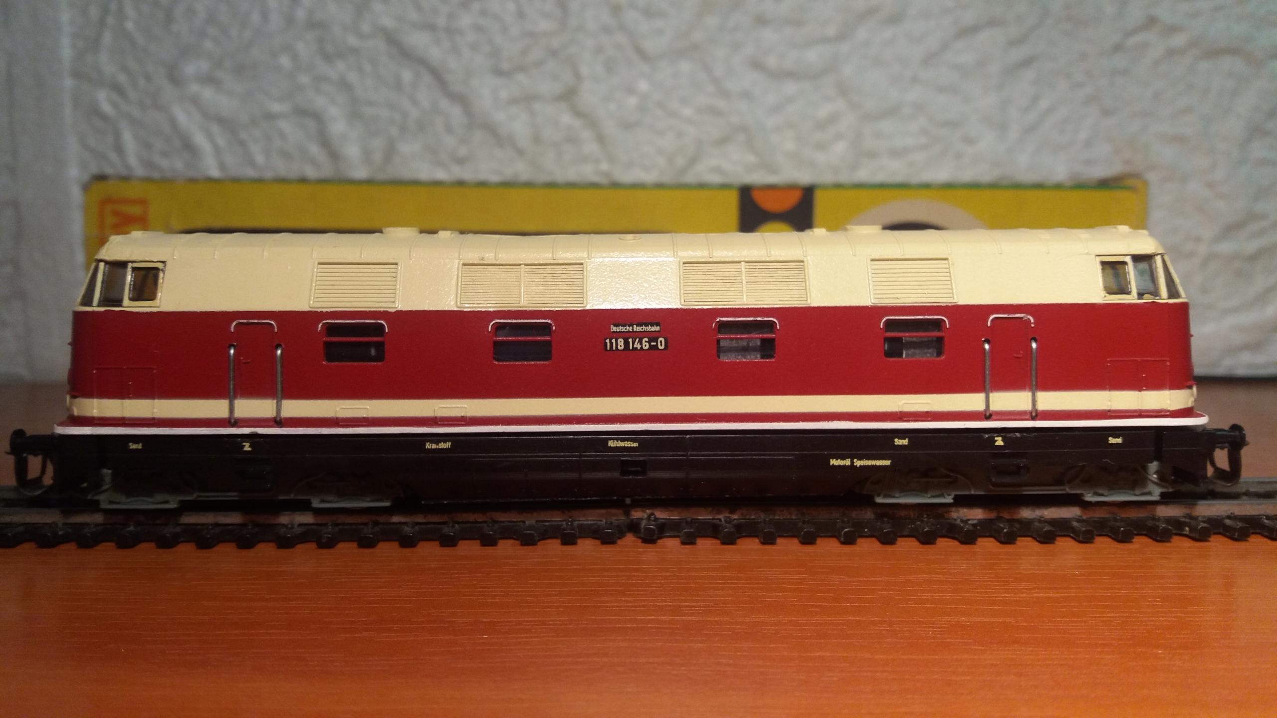 lokomotywa BR118-146 BerlinerTTBahnen