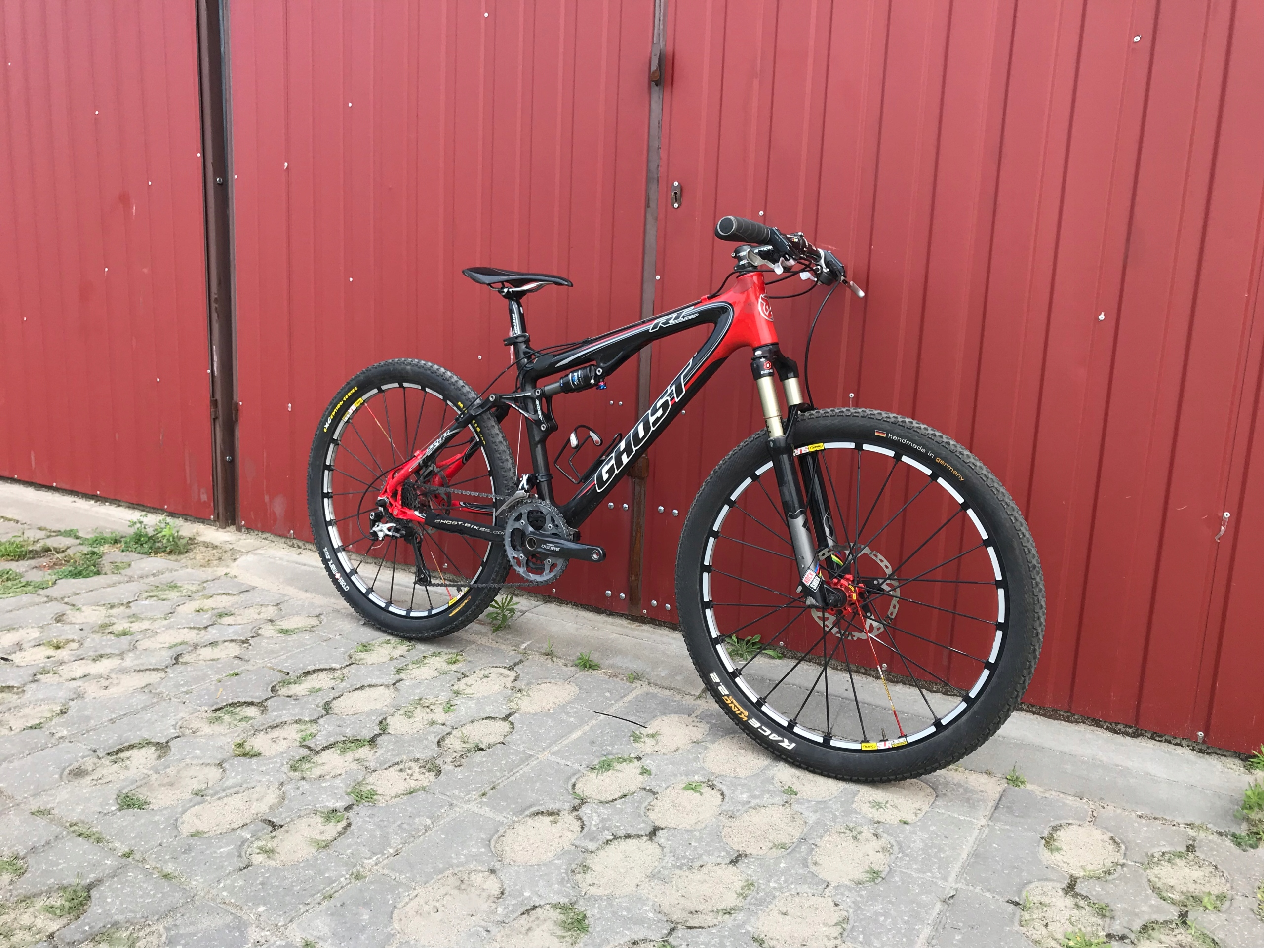 Rower MTB CARBON GHOST LECTOR WORLD CUP xt xt cube
