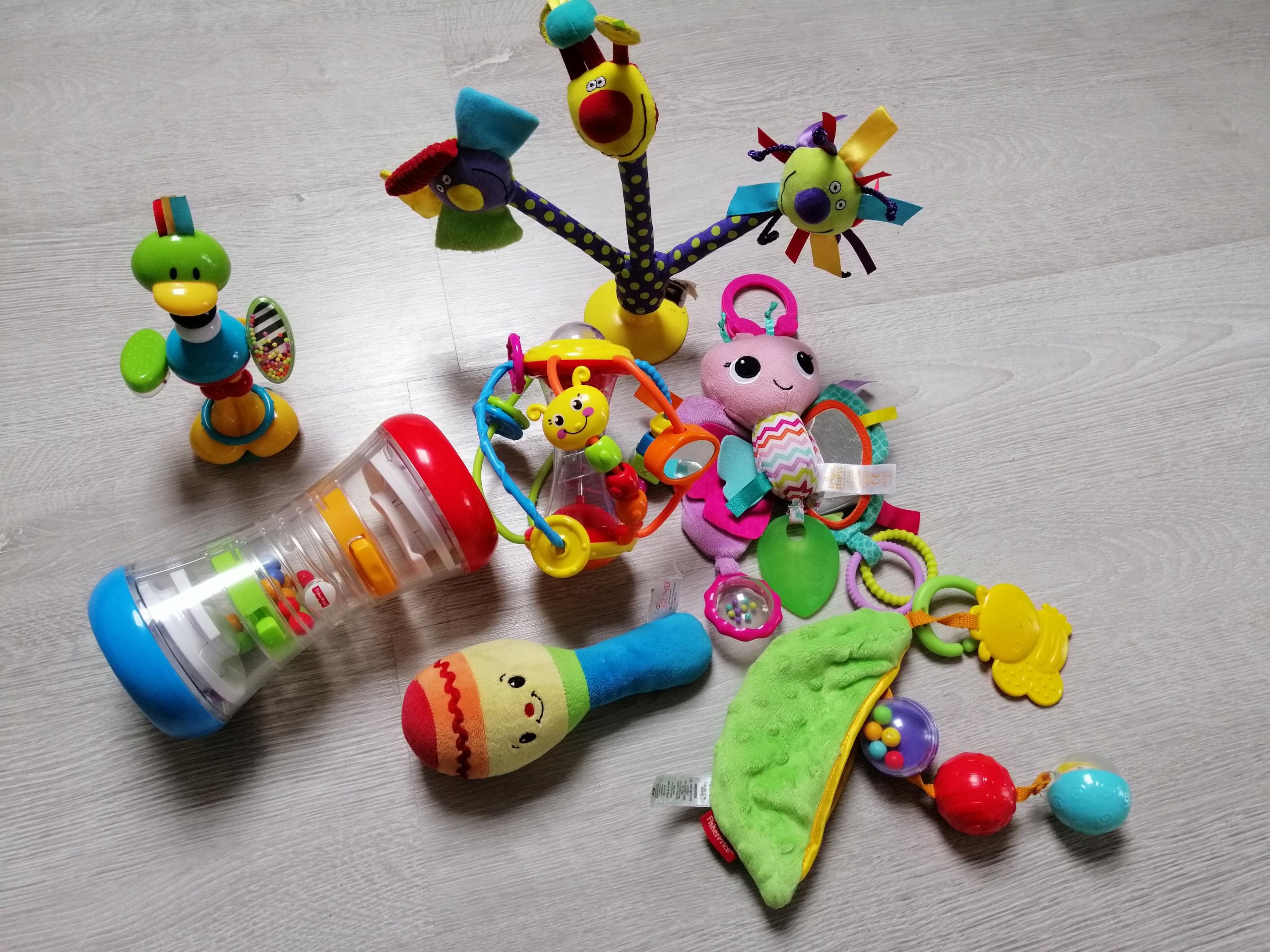 Zabawki Fisher Price Grające, Sensoryczne