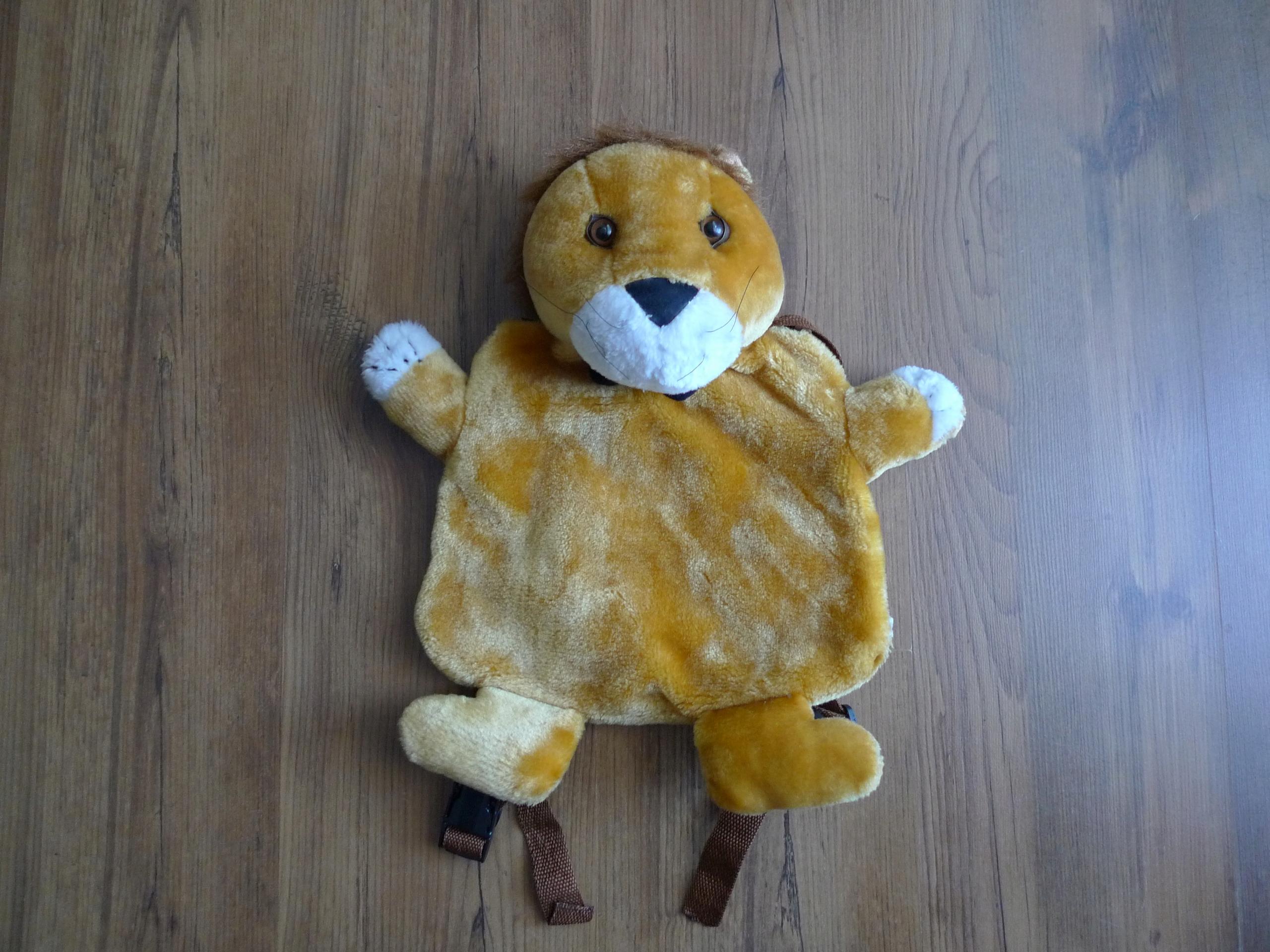 plecak dla przedszkolaka lew