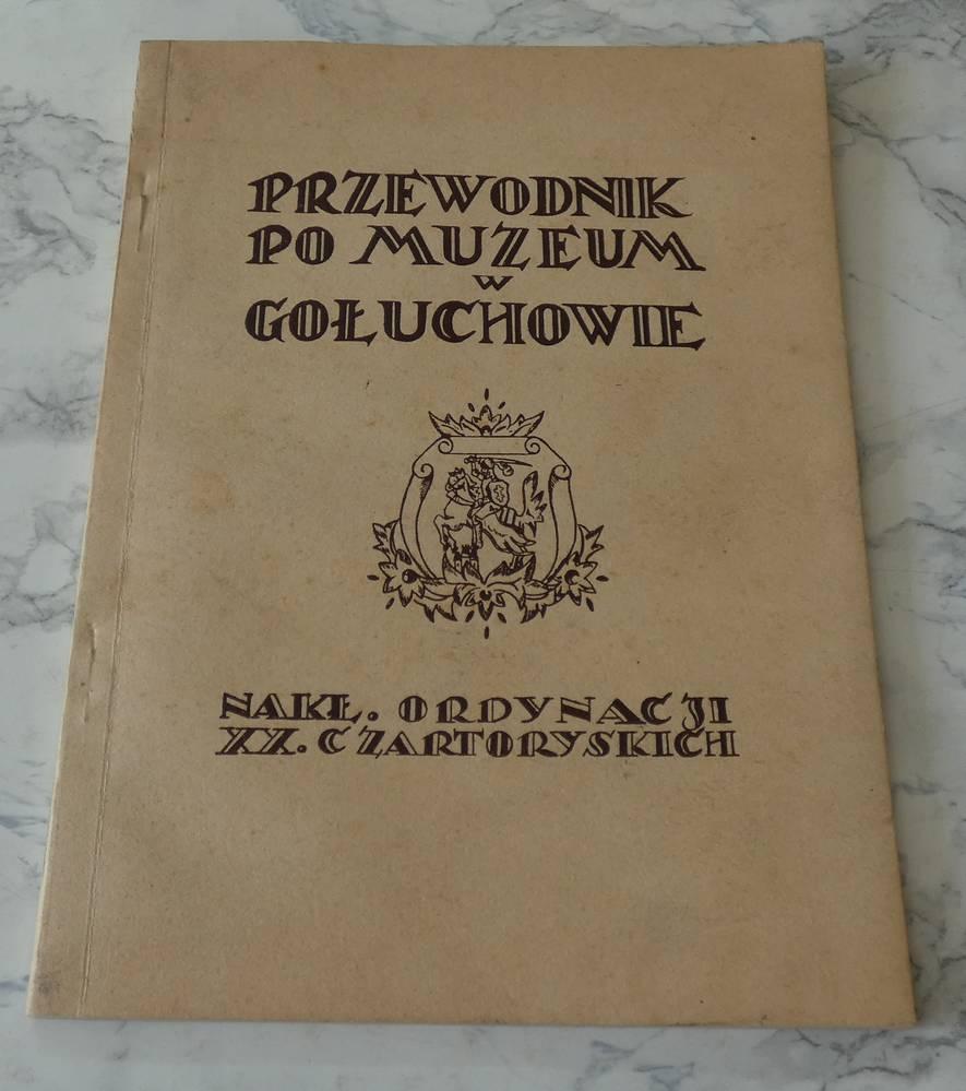 PRZEWODNIK PO MUZEUM W GOŁUCHOWIE 1929r