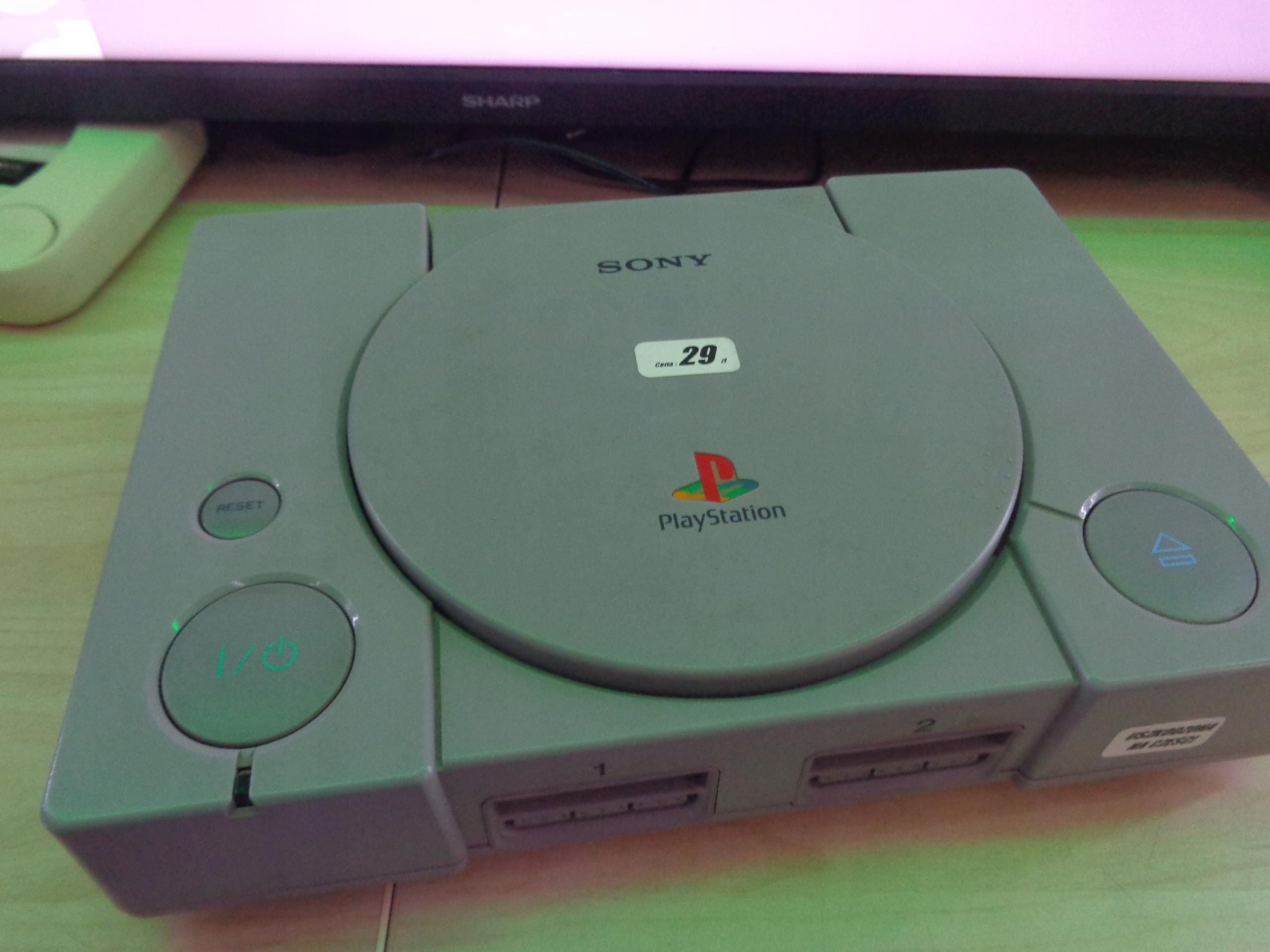 Konsola Playstation 1 PSX Szarak