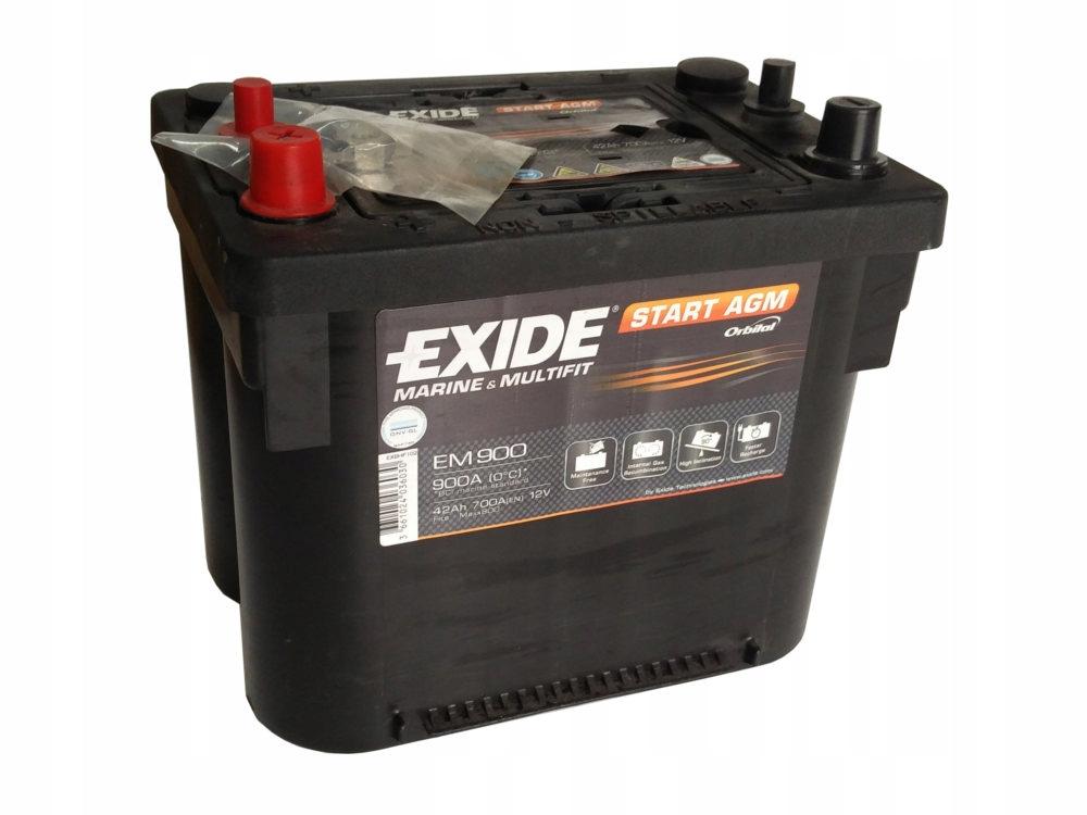EXIDE START AGM 12V 42AH 700A EM900