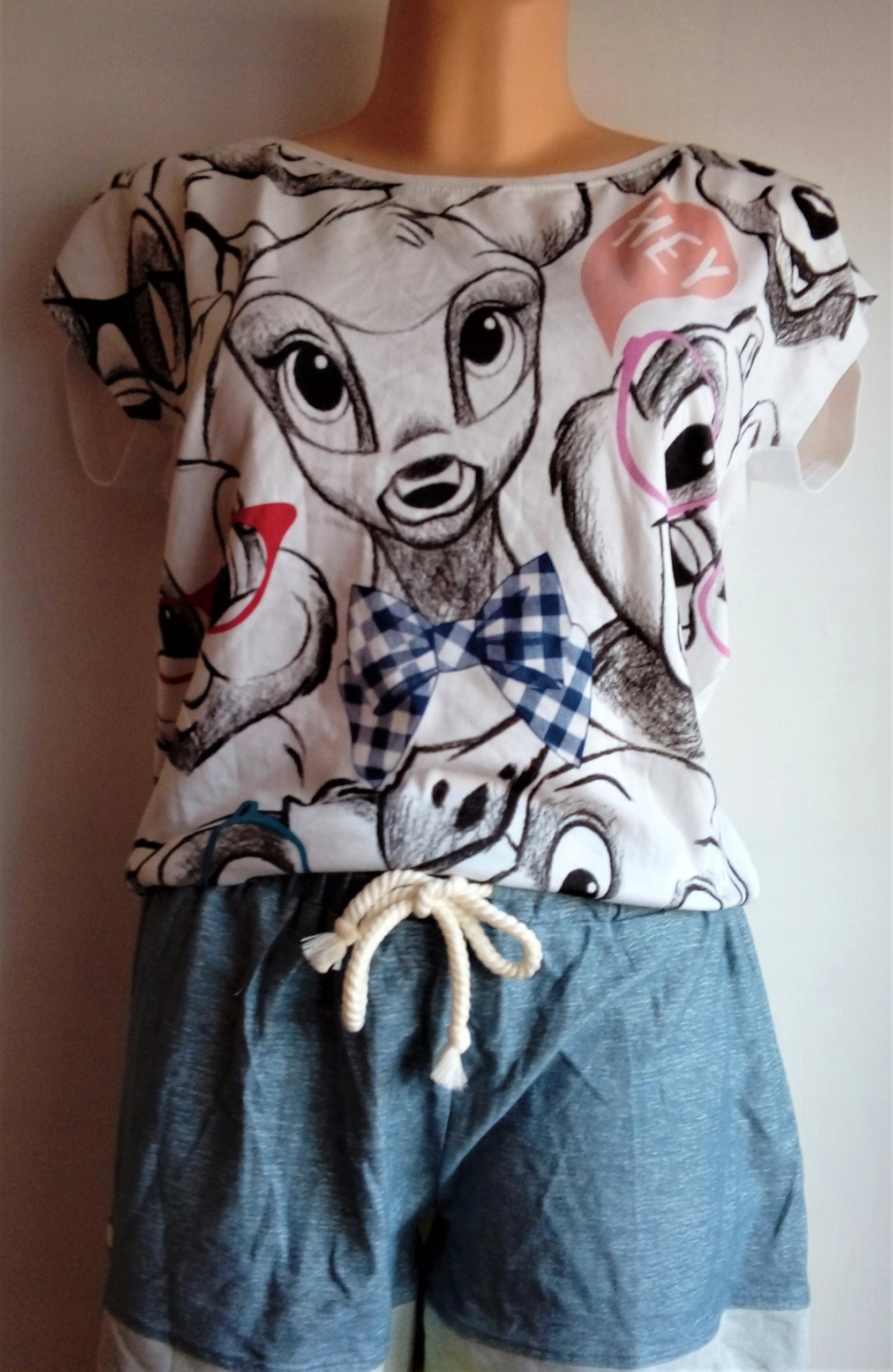 Piżamka Disney Reserved Bambi L szorty +koszulka