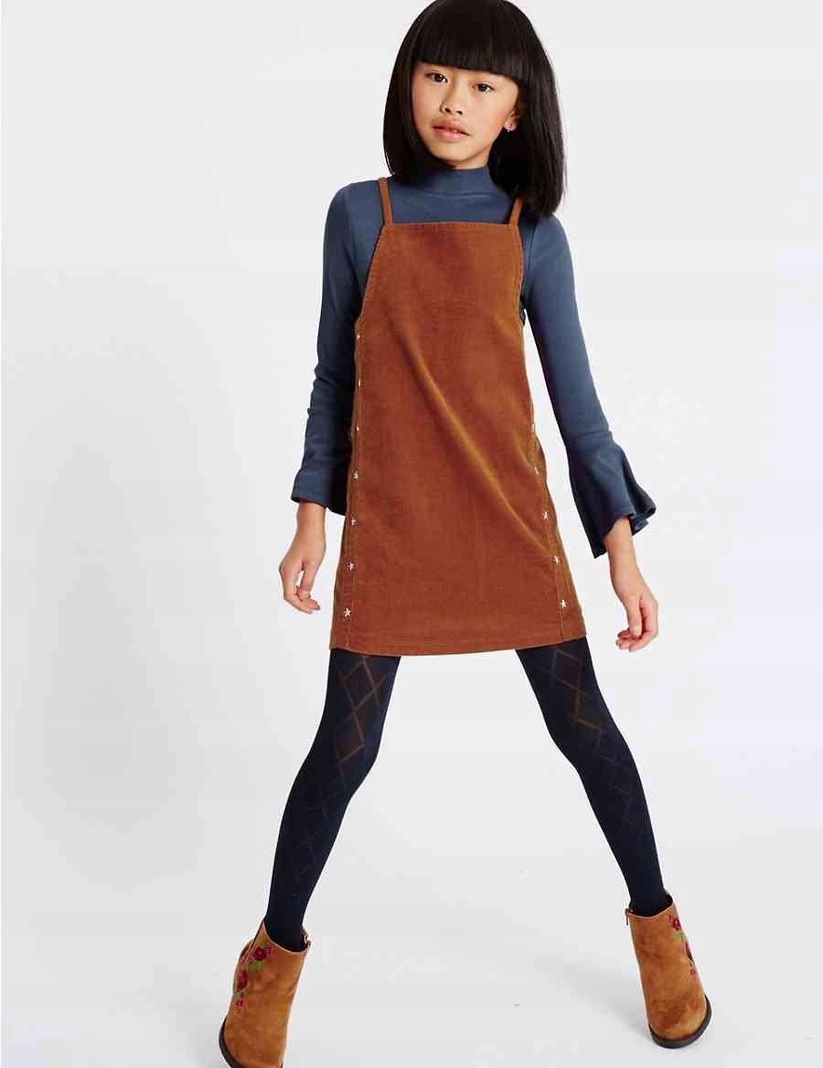 M&S Kids Sukienka + bluzka T741722M 110cm