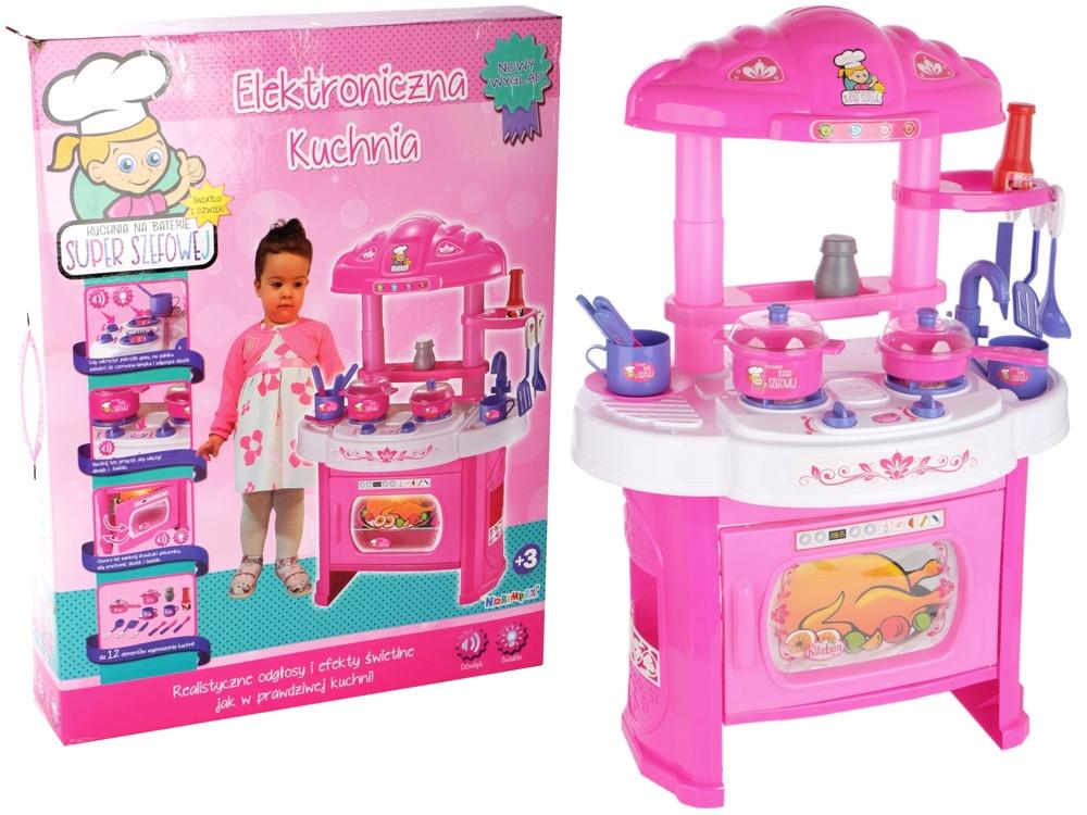 Elektroniczna Kuchnia Dla Dzieci Duża Kuchenka 7028042339