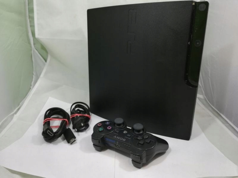KONSOLA PLAYSTATION 3 PS3 SLIM 320GB PAD+ GRY!!