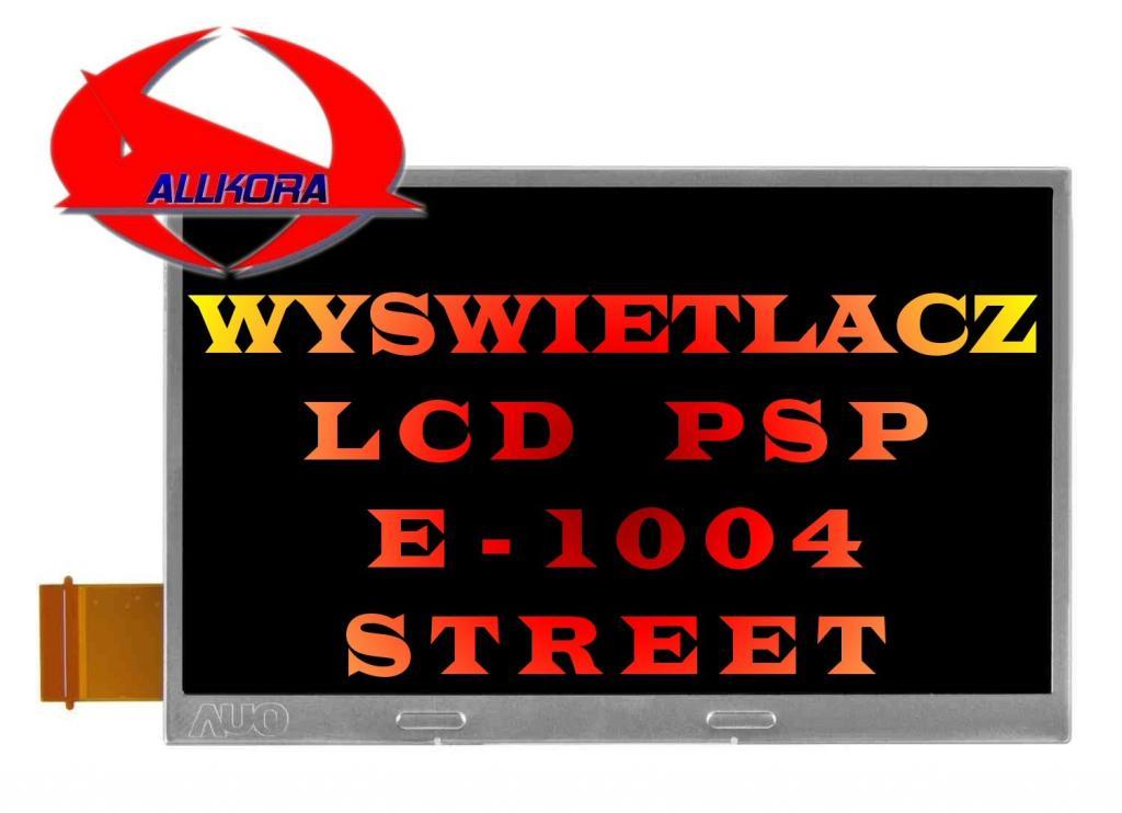 Wyświetlacz LCD do konsoli Sony PSP E-1004 Street