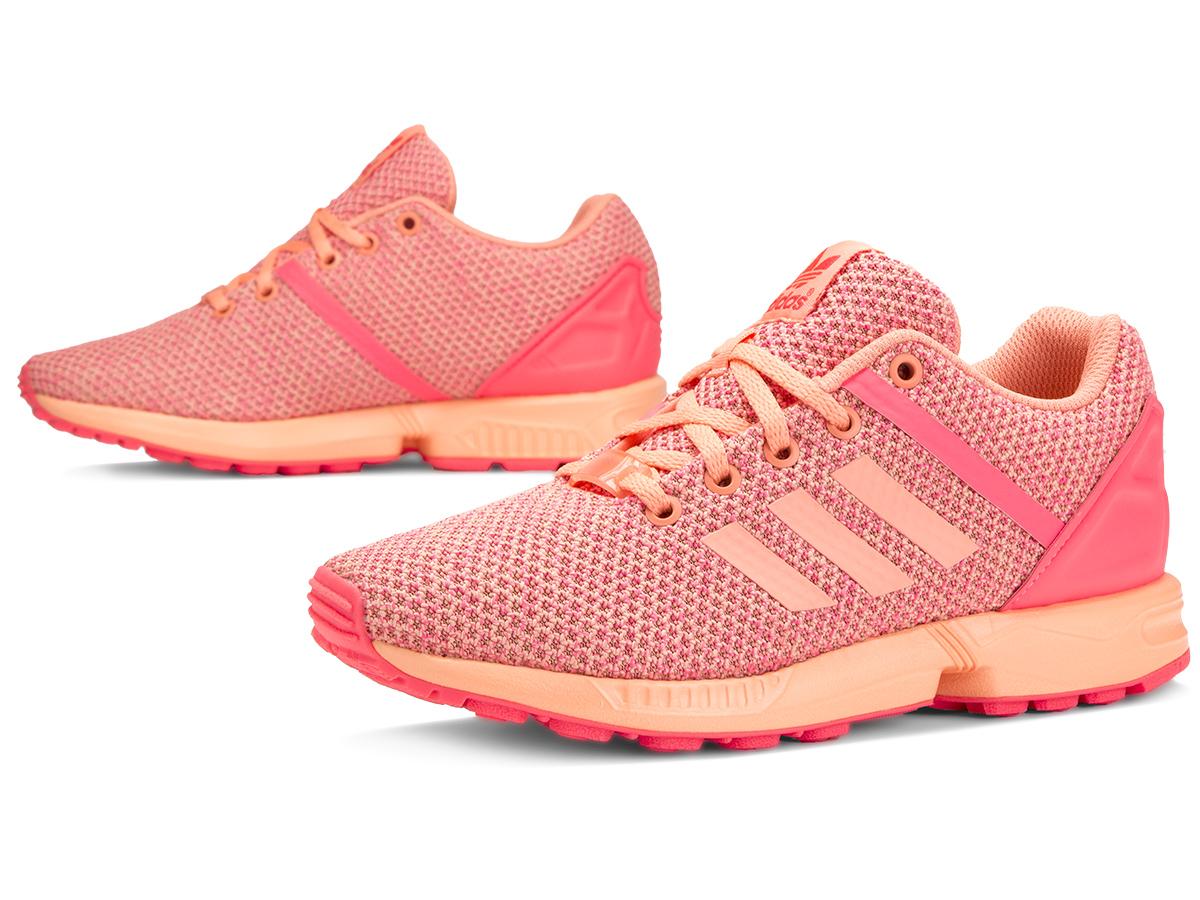 ADIDAS ZX FLUX Split AQ6292 buty pomarańczowe 38,5