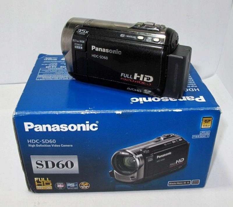 KAMERA PANASONIC HDC SD60 ZOOM X 35