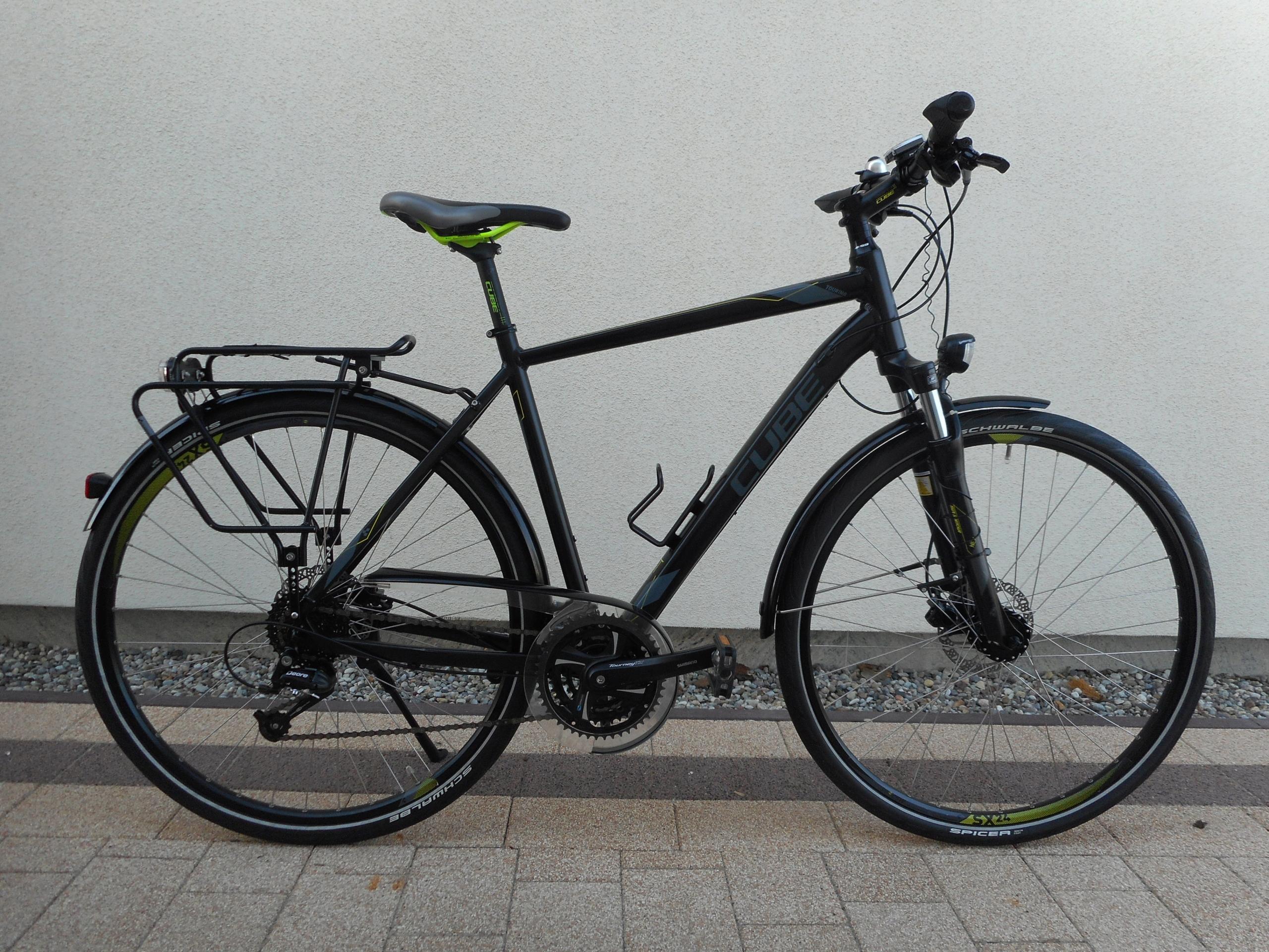 rower CUBE TOURING koła 28 24 biegów powystawowy