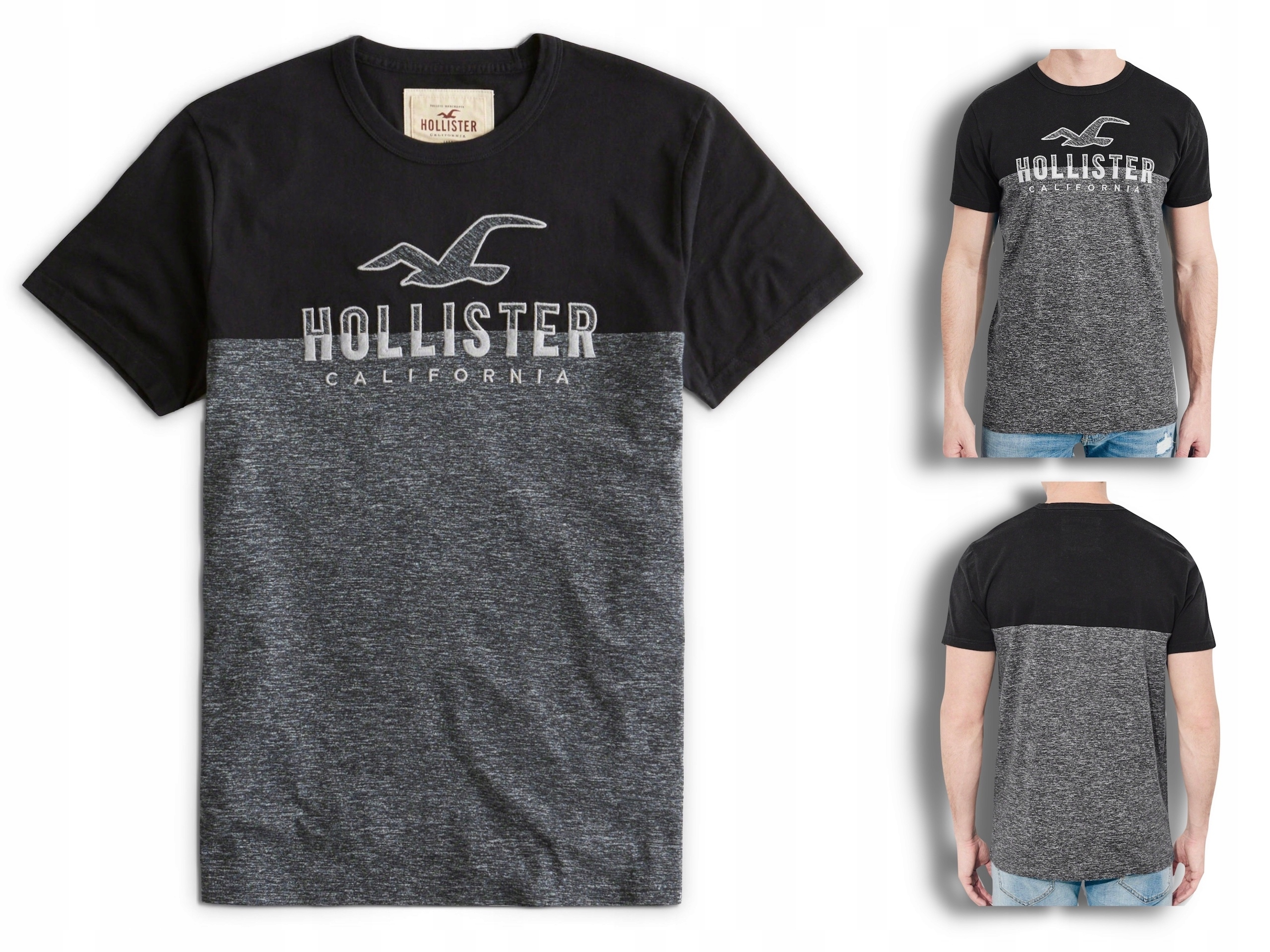 HOLLISTER by Abercrombie T-shirt Koszulka USA S