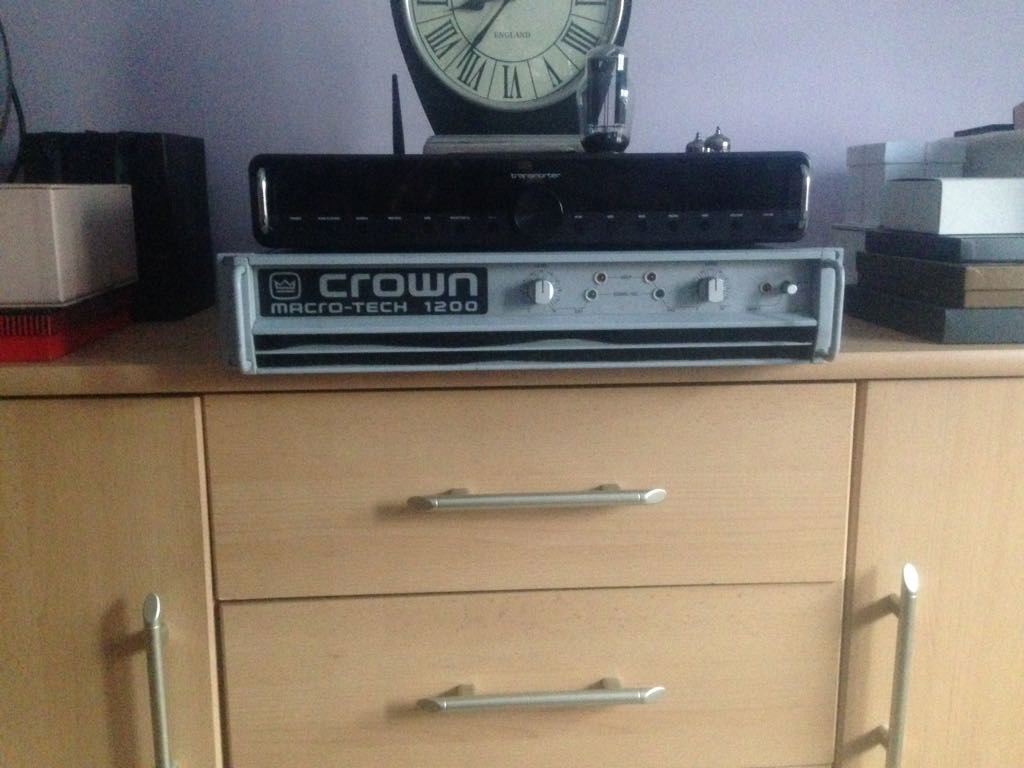 Crown MacroTech 1200