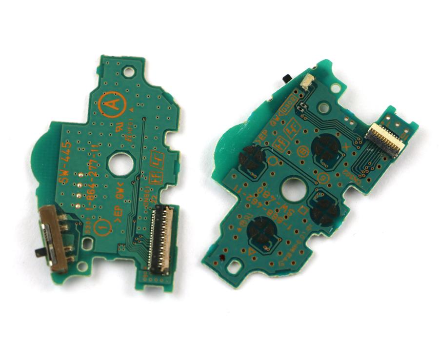 Płytka włącznik switch power-reset do PSP Fat 100x