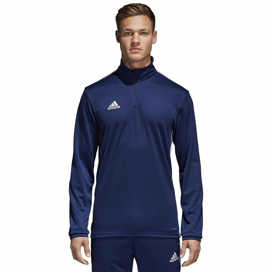 Bluza adidas CORE 18 TR TOP CV3997 granatowy S