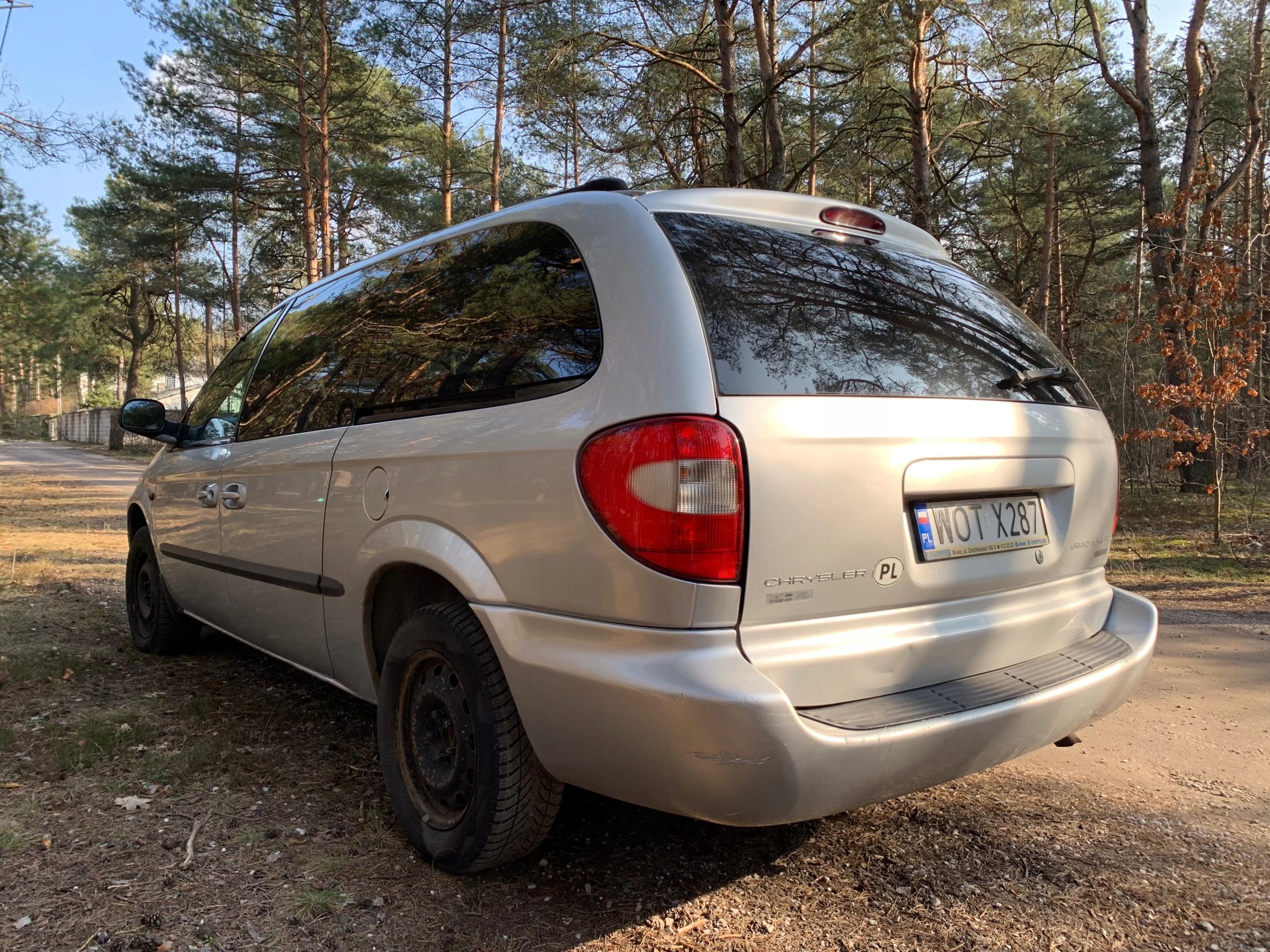 Chrysler Grand Voyager 2 5 Crd Rok Prod  2002