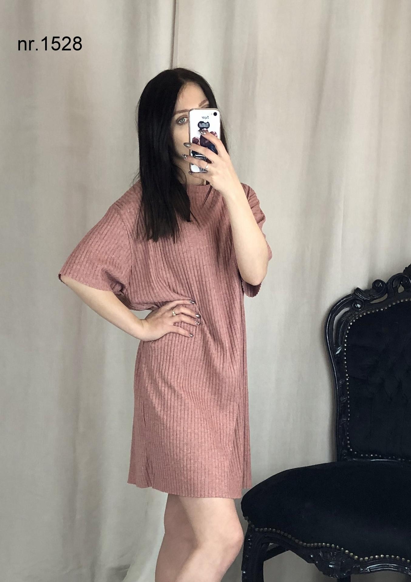 Sukienka S 36 zara oversize twardy krój nr 1528