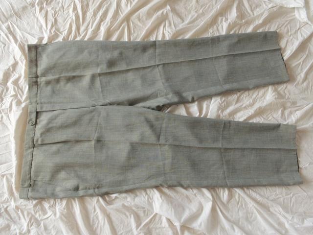 Spodnie Męskie Wizytowe Garniturowe Pas 136cm