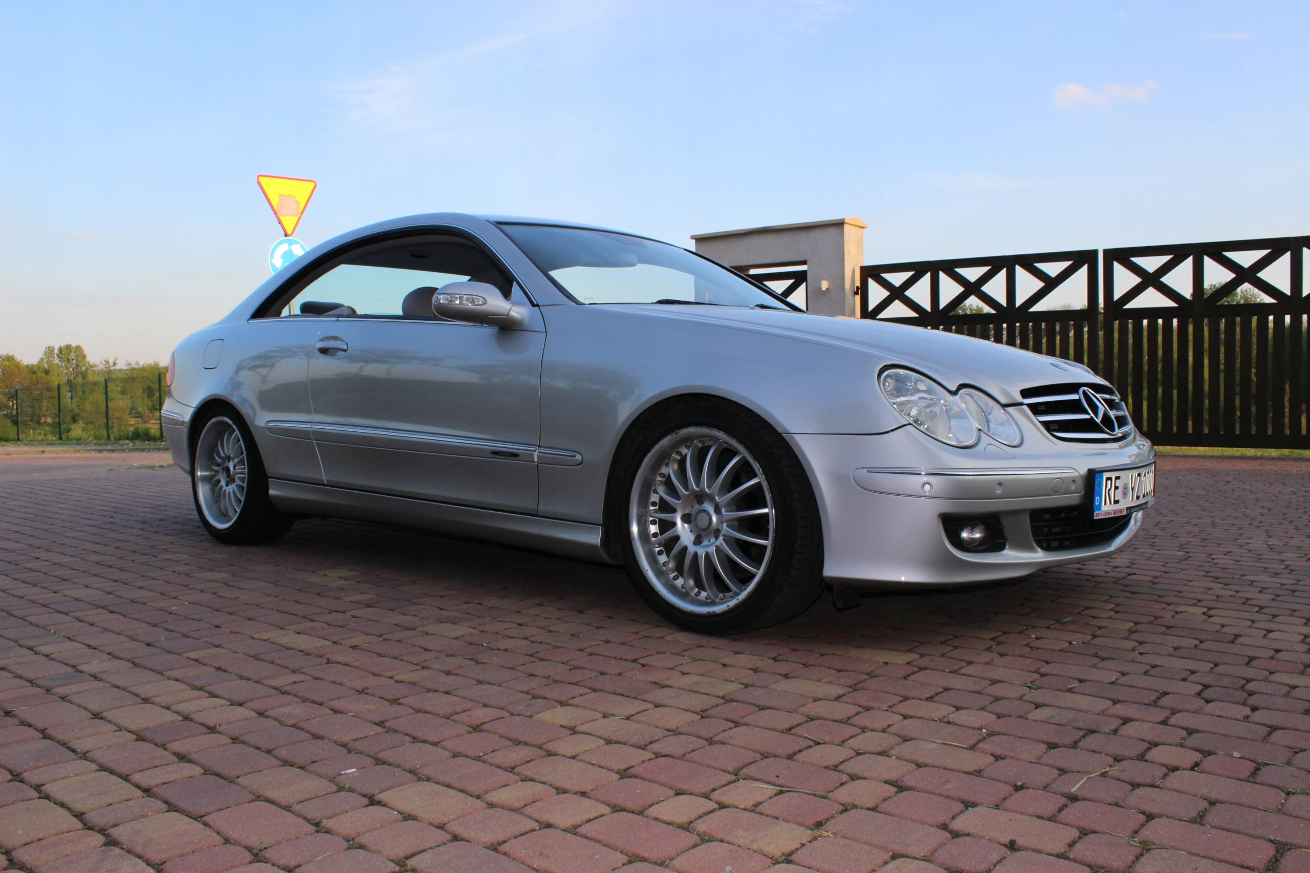 Mercedes CLK W209 3.2 Automat Mały Przebieg!!!