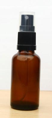 Butelka szklana z atomizerem 10ml Buteleczka