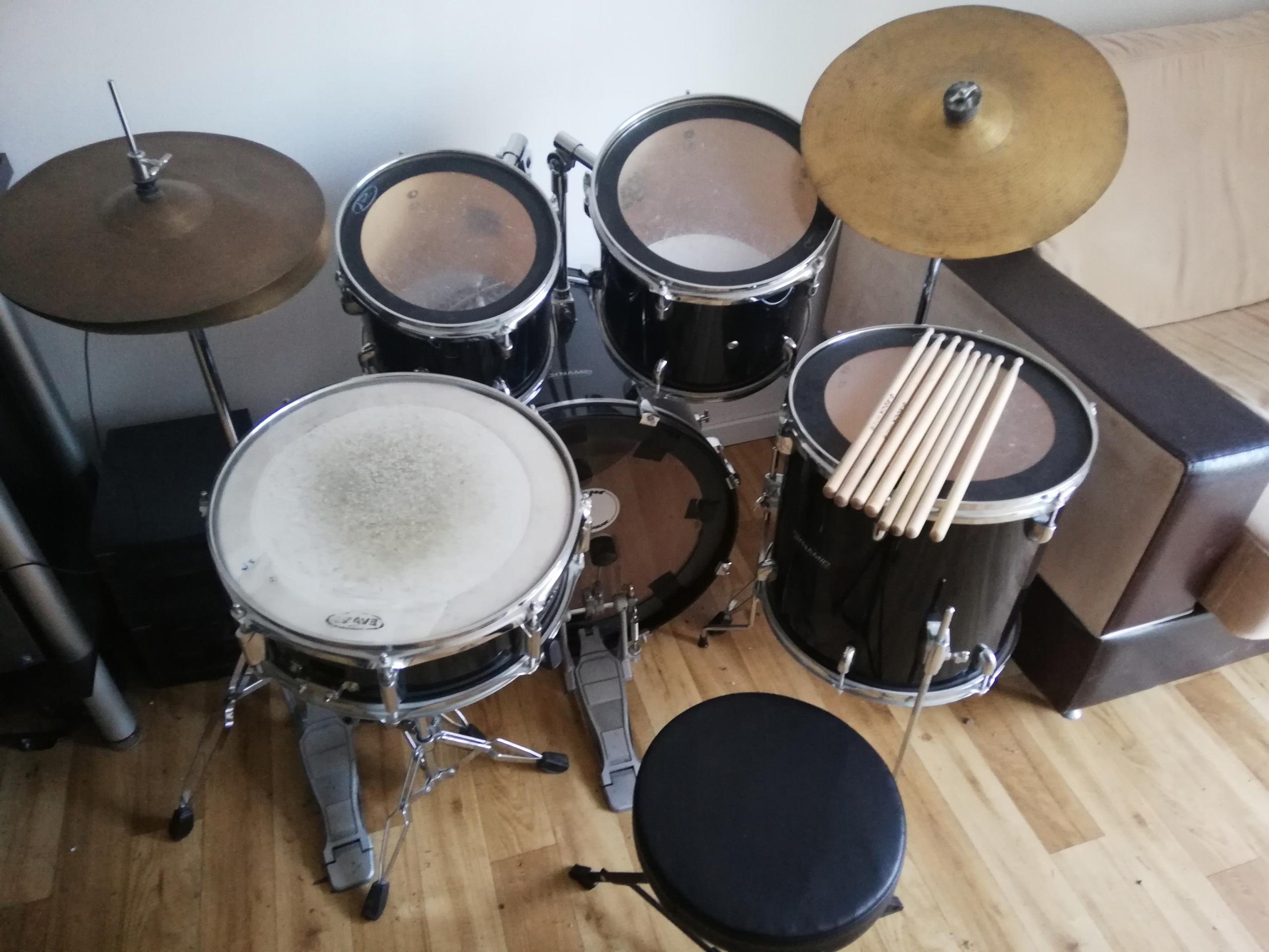 Perkusja Dynamic, zestaw perkusyjny, kpl.