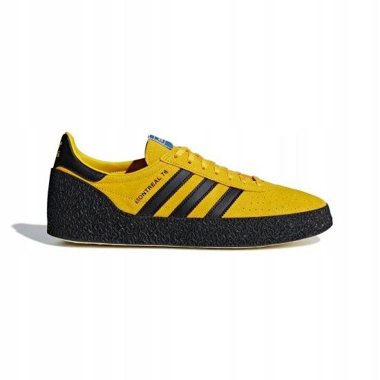 buty nike Buty Adidas Originals Montreal '76 Męskie Czarne