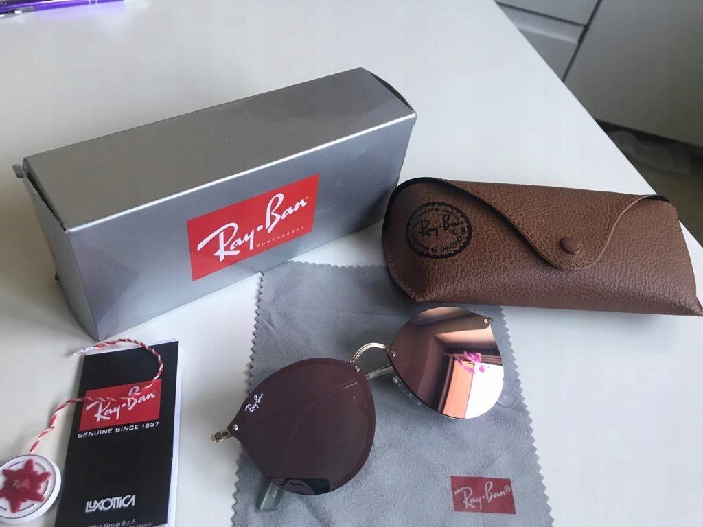 17f1b53992666b Okulary Ray Ban Ray-Ban lustrzanki różowe! Śliczne - 7591423187 ...