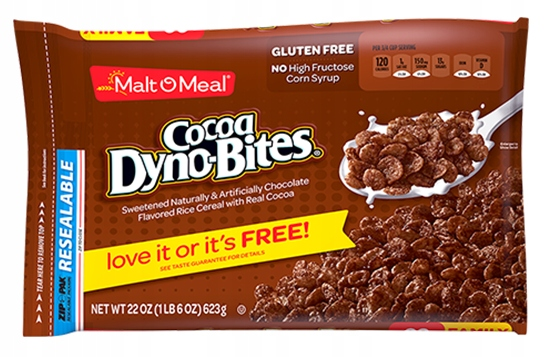 Płatki Malt O Meal Cocoa Dyno-Bites 538g z USA