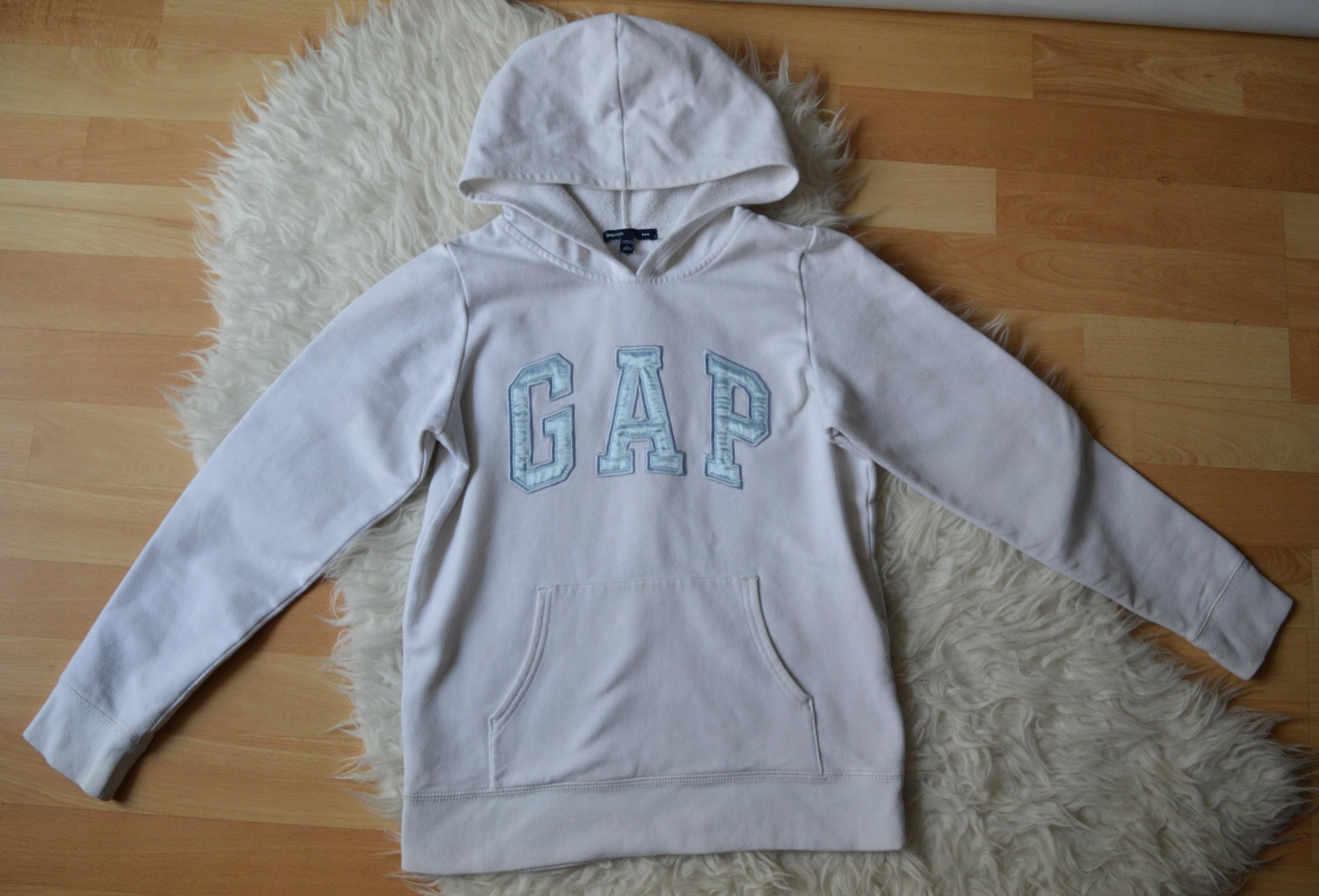 biała bluza Gap Kids L 10-11 LAT 140-146cm