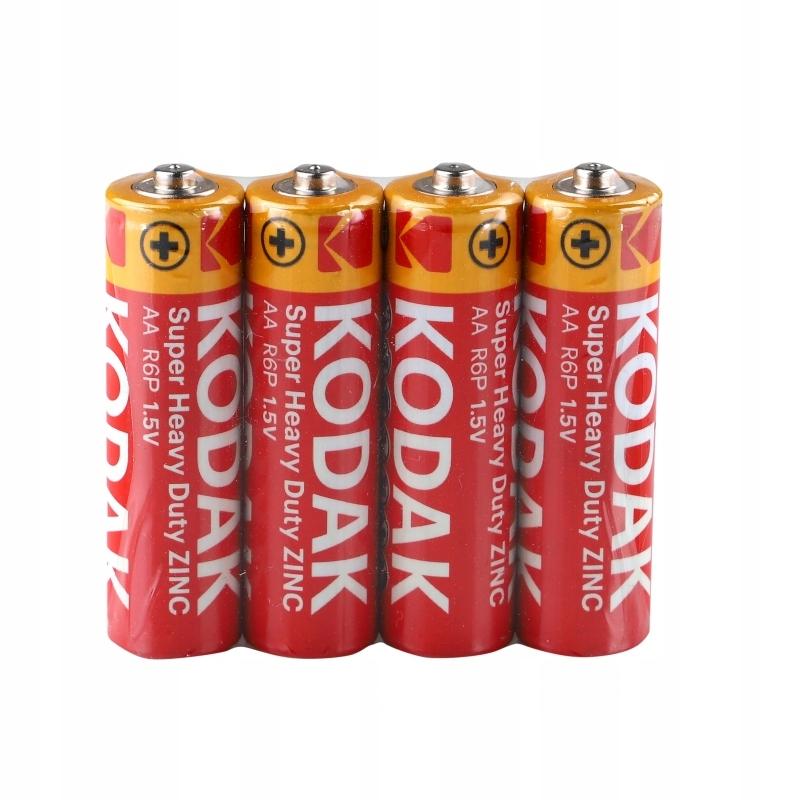 Baterie Alkaiczne AA KODAK lR06 4 Sztuki