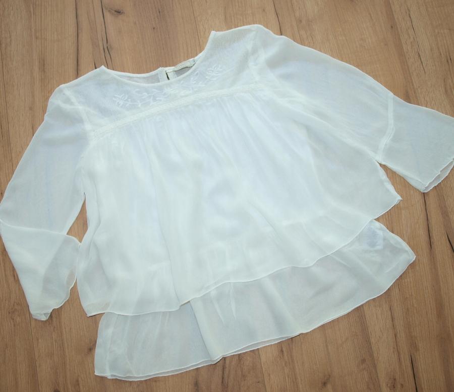 CREAM piękna bluzeczka retro koronka NOWA 36