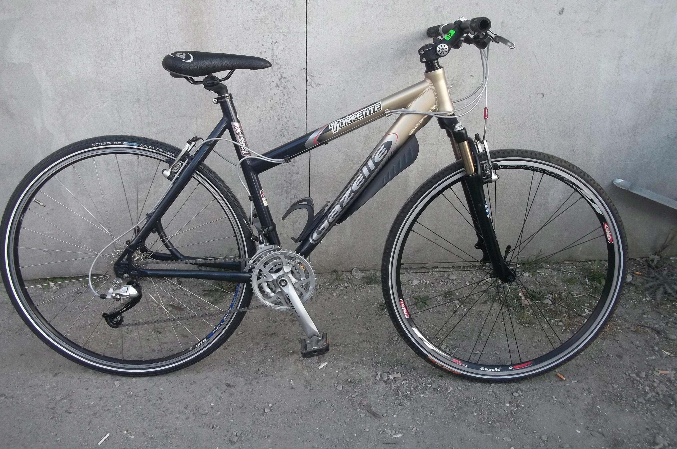 Nr 404 Rower crossowy damski gazelle torrente 28