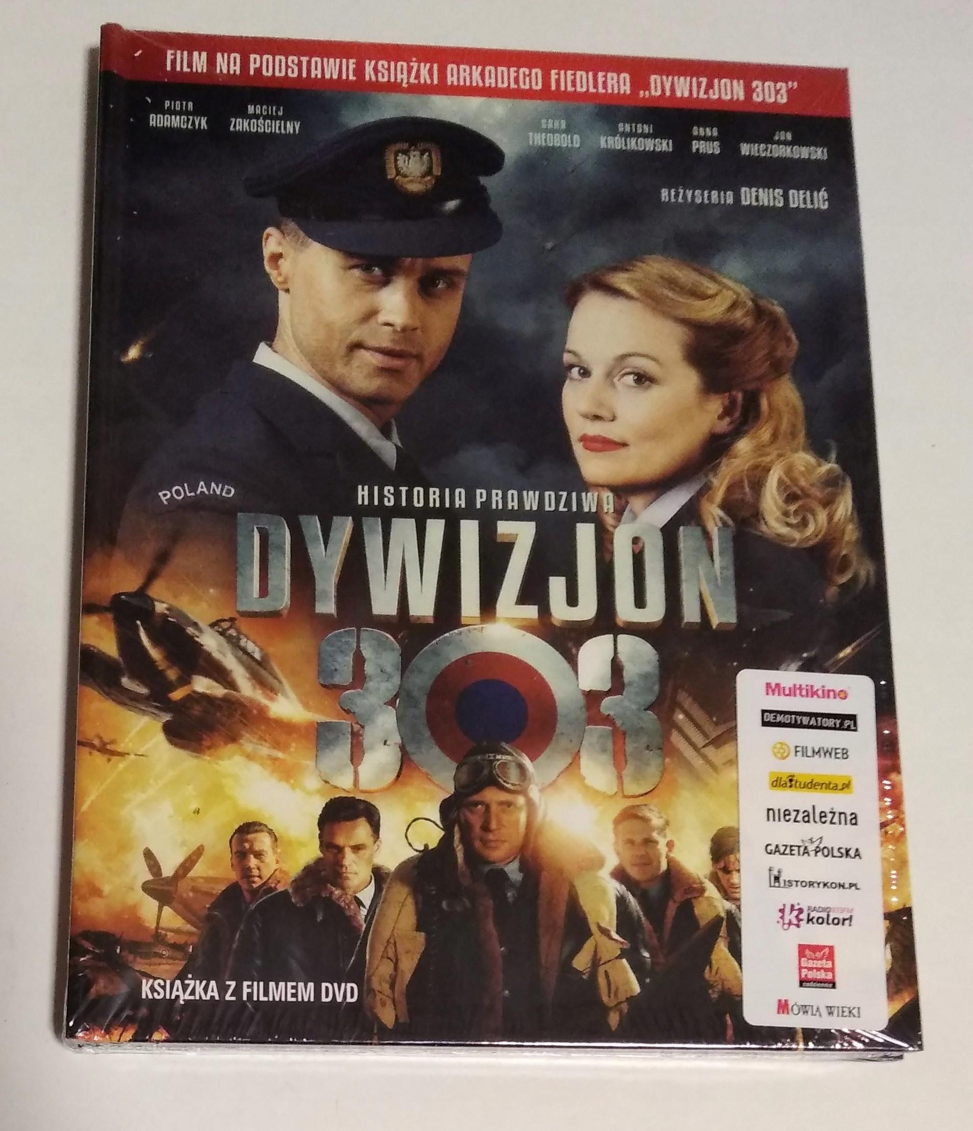 Dywizjon 303 Historia prawdziwa NOWE DVD folia