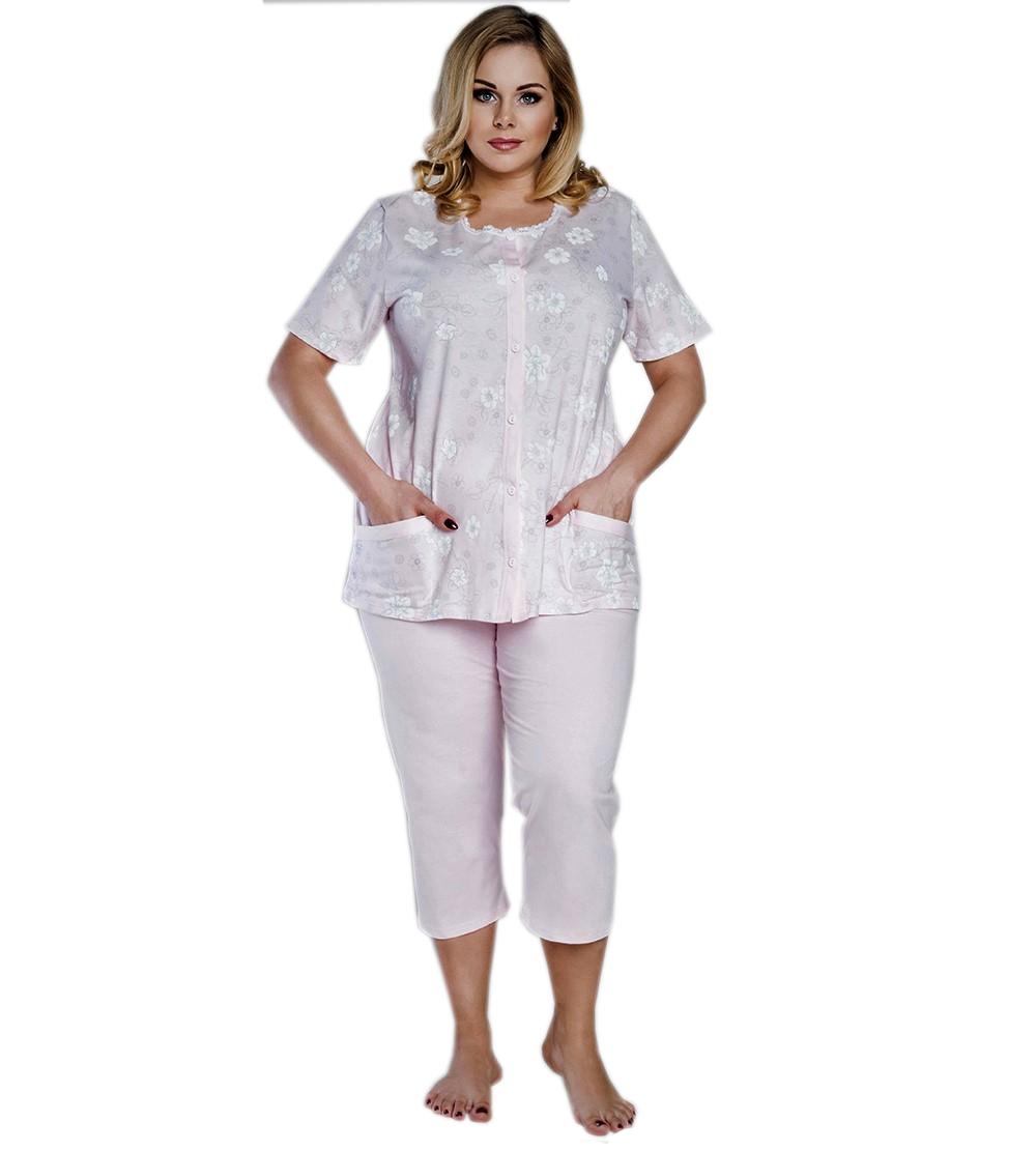 f3c8164690d165 Piżama damska rozpinana Italian Fashion LUCYNA XL - 7262092969 ...