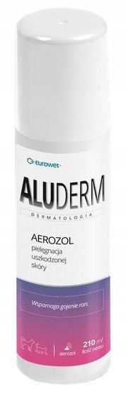 Alu-Derm 210ml - spray na rany