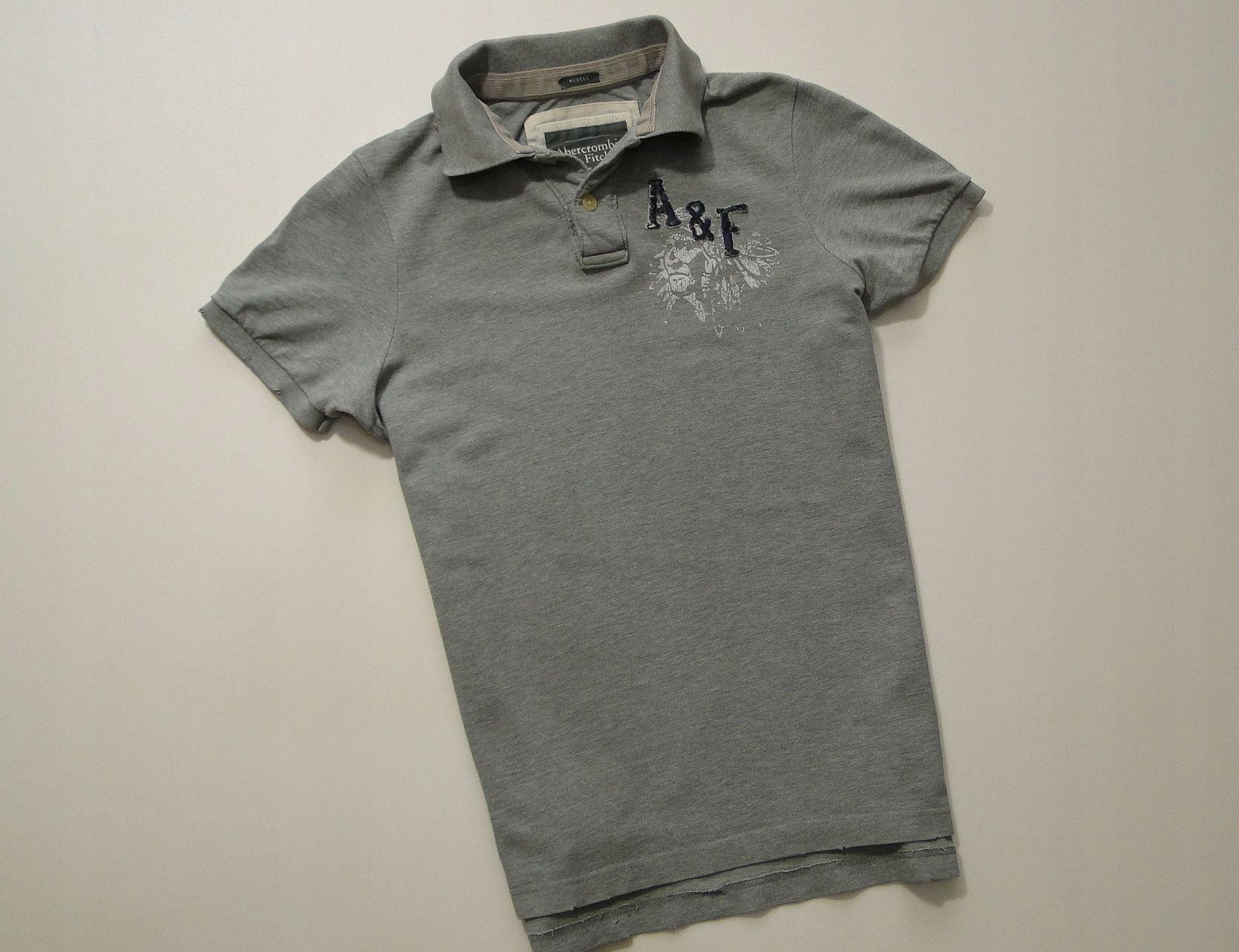 Koszulka Abercrombie Fitch Muscle New York Polo S