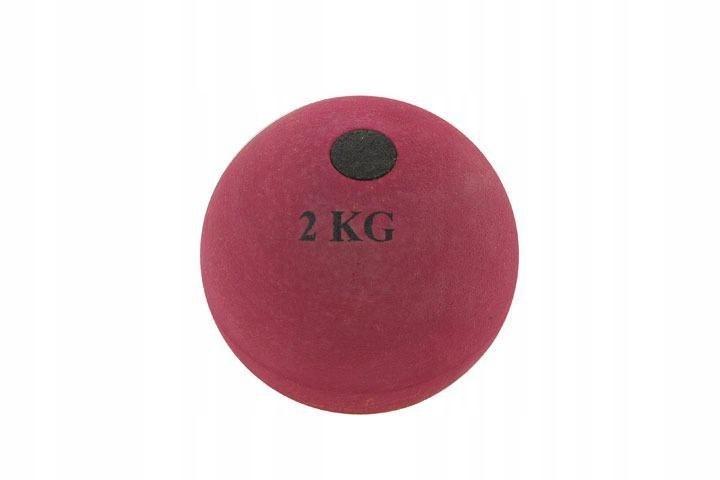 Kula do pchnięcia kulą lekkoatletyka 5 kg gumowa