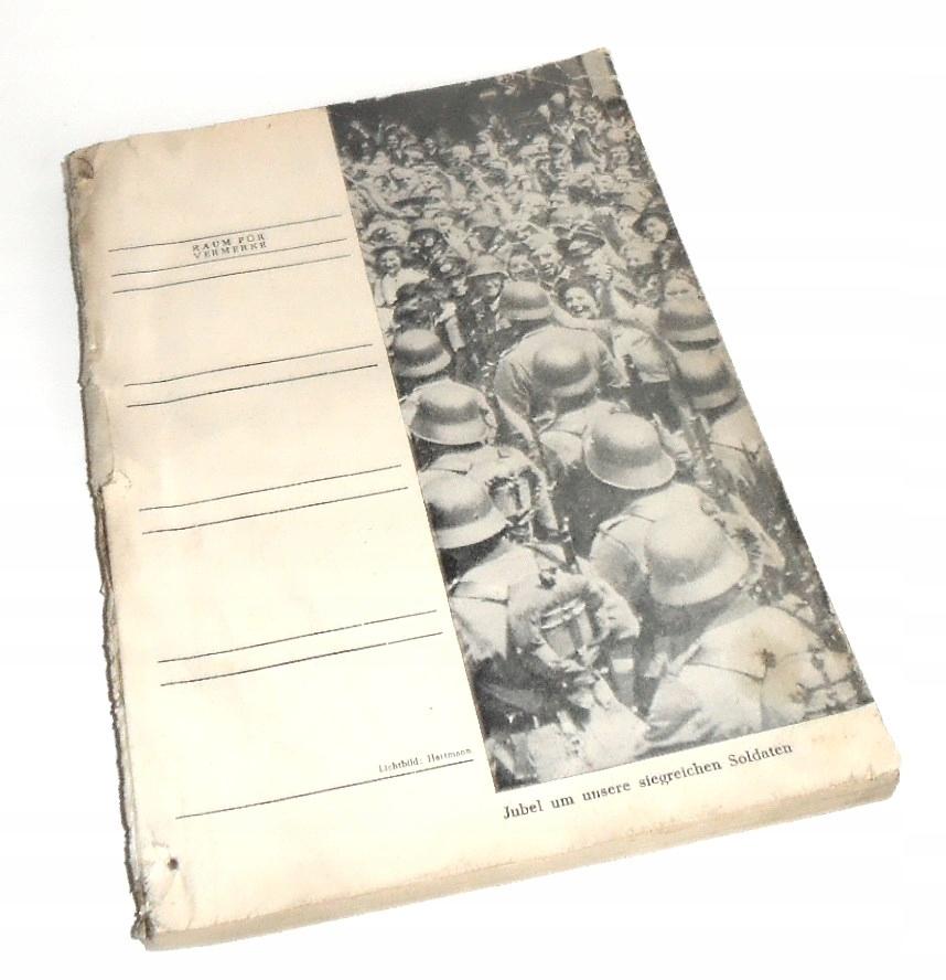 HEIMAT KALENDER 1942 KRENAU  CHRZANÓW