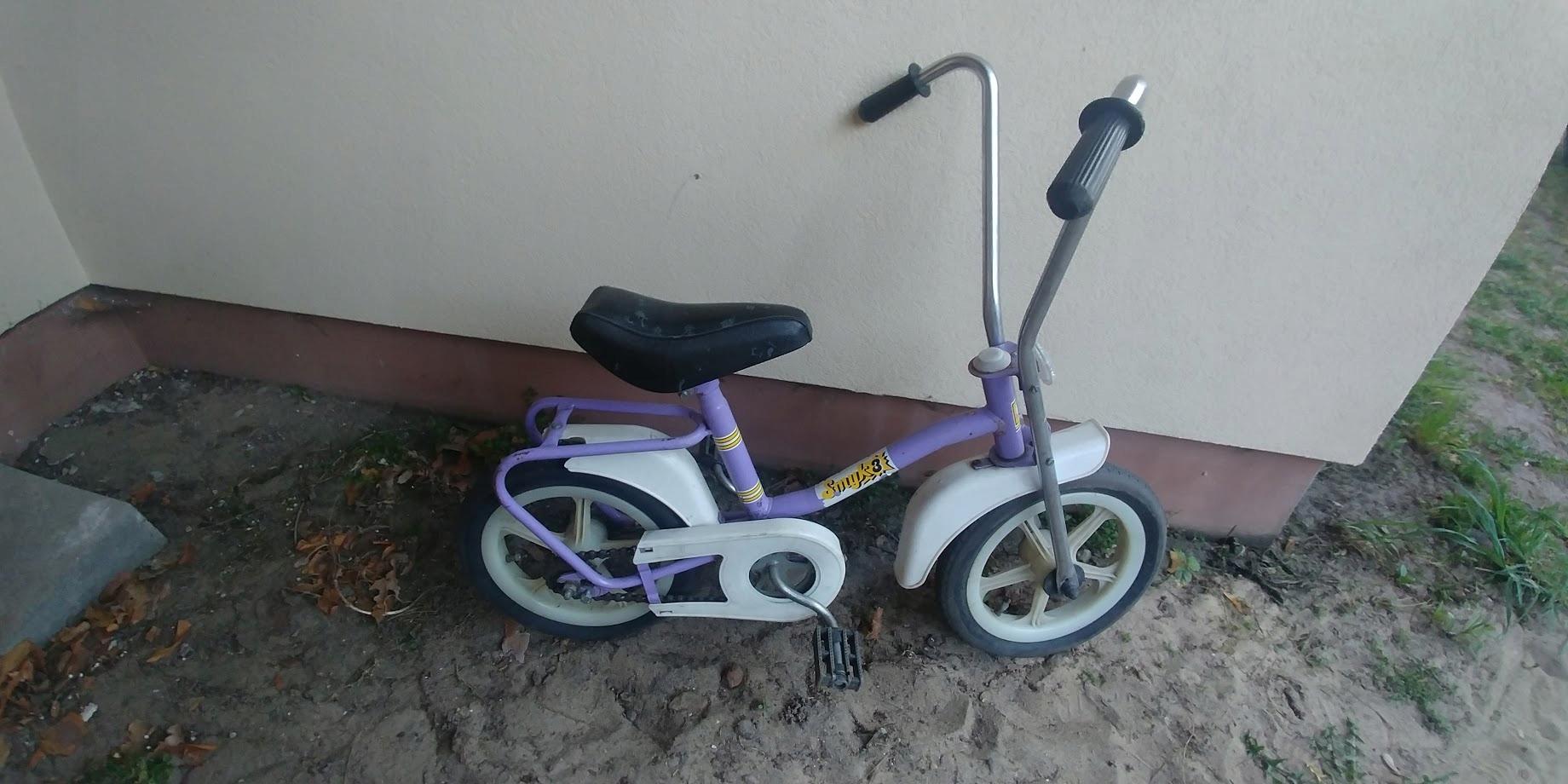 Rowerek dziecięcy Smyk 3 ZZR PRL zabytek Unikat