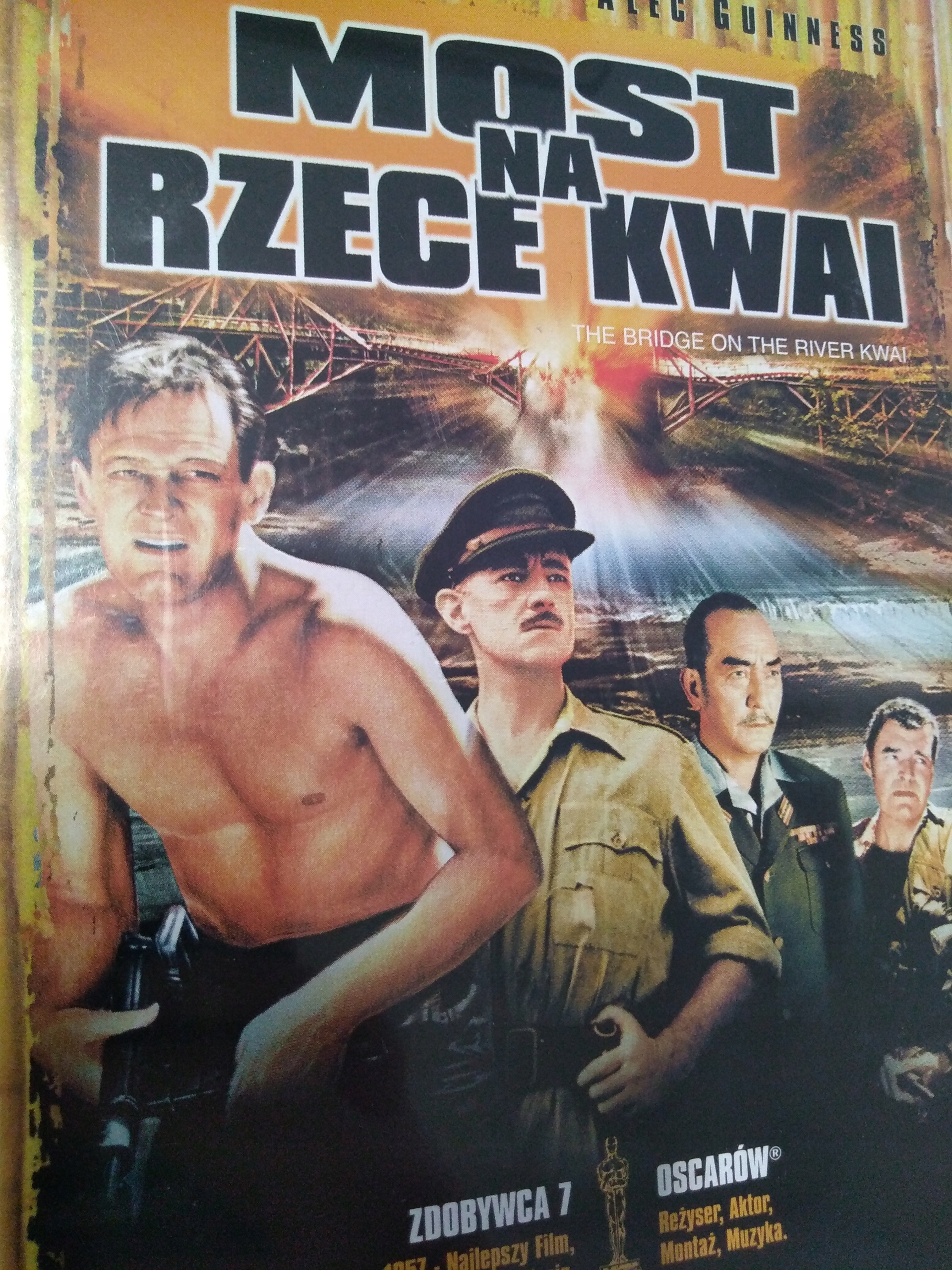 MOST NA RZECE KWAI DVD F78