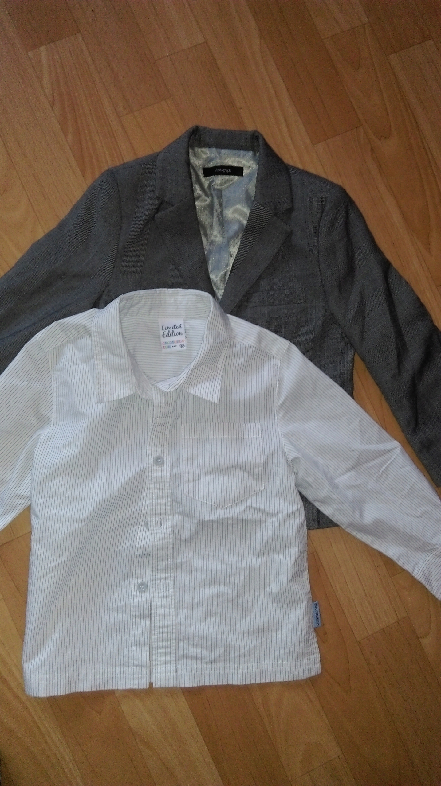 Marynarka+Coccodrillo koszula-98/104