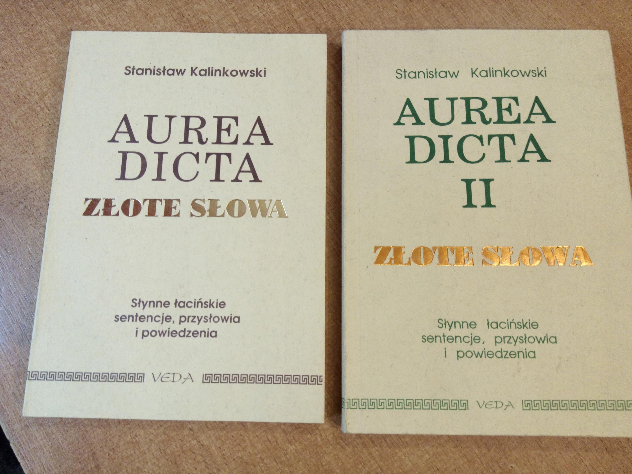 Aurea Dicta - tom I + II - Kalinkowski