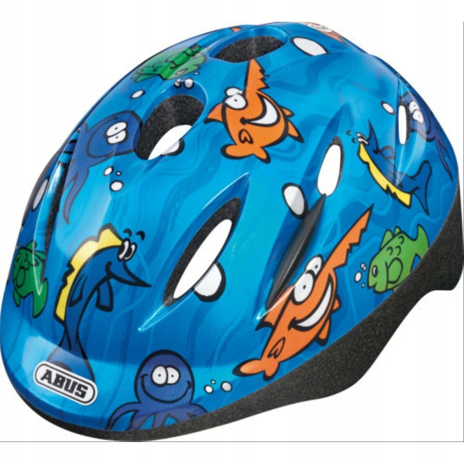 Kask rowerowy dziecięcy ABUS Smooty Ocean S 45-50