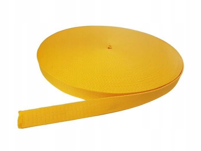 Taśma Polipropylenowa Pasek 25mm gr.2mm Żółta
