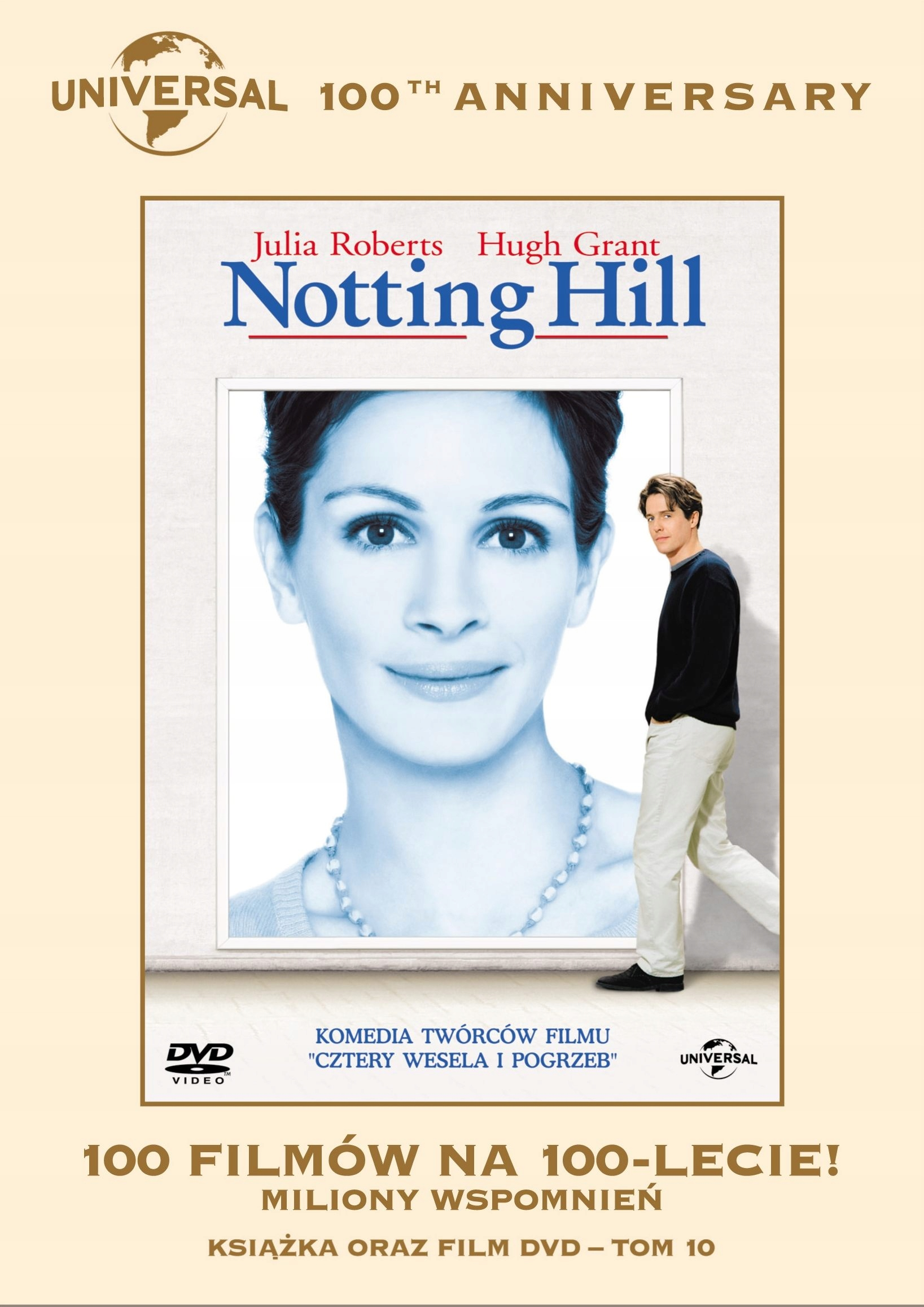 NOTTING HILL /KS+DVD/ 100 LAT UNIVERSAL