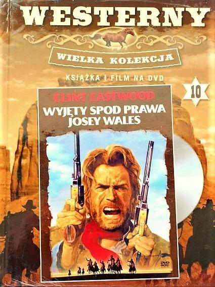 WYJĘTY SPOD PRAWA JOSEY WALES DVD+KSIĄŻKA - FOLIA