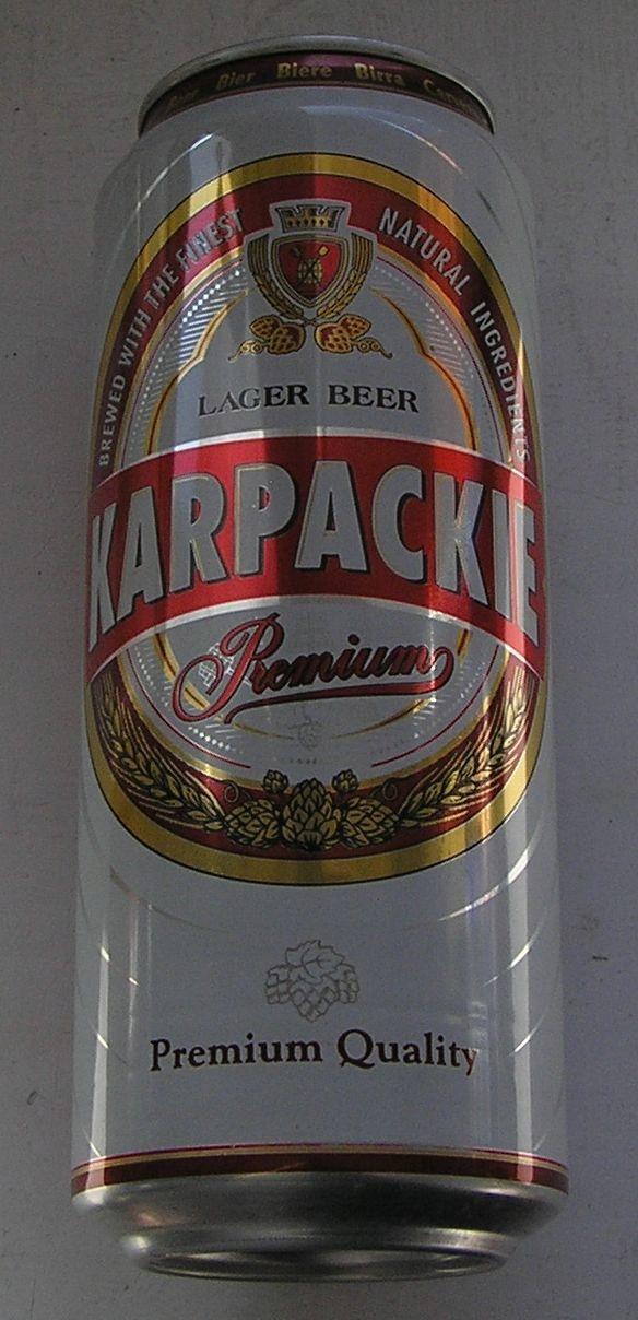 PUSZKA PIWO KARPACKIE PREMIUM VAN PUR 2005