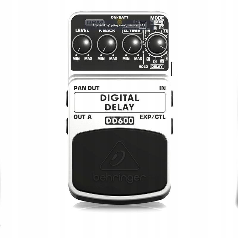 Efekt Gitarowy Behringer DD60 Digital Delay