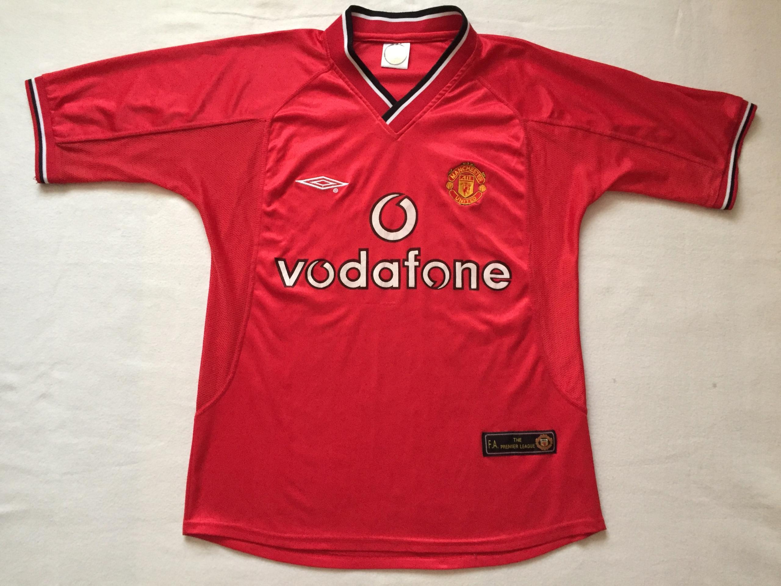 Koszulka Manchester United - sezon 2000/2002