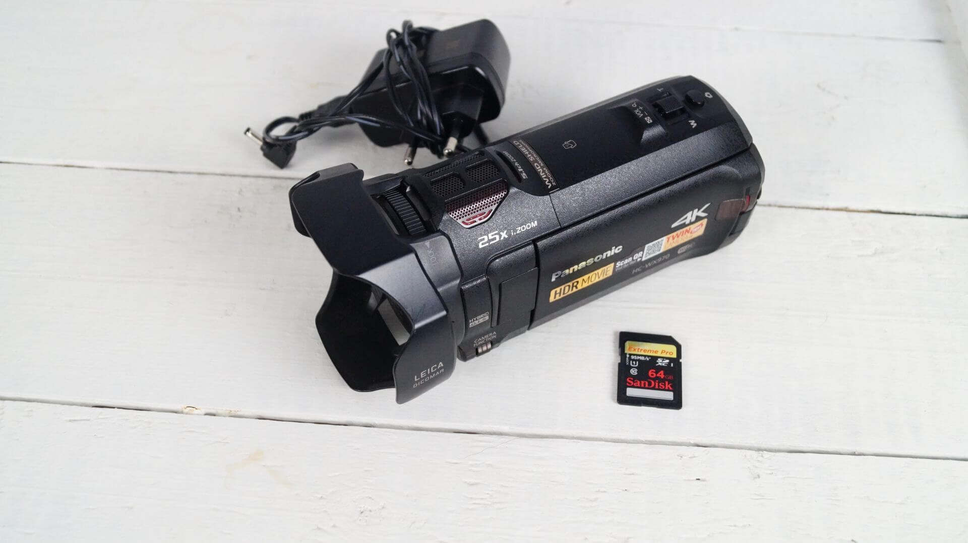 Panasonic Hc Wx970 4k Czarna 7160096393 Oficjalne Archiwum Allegro Camcorder Ultra Hd